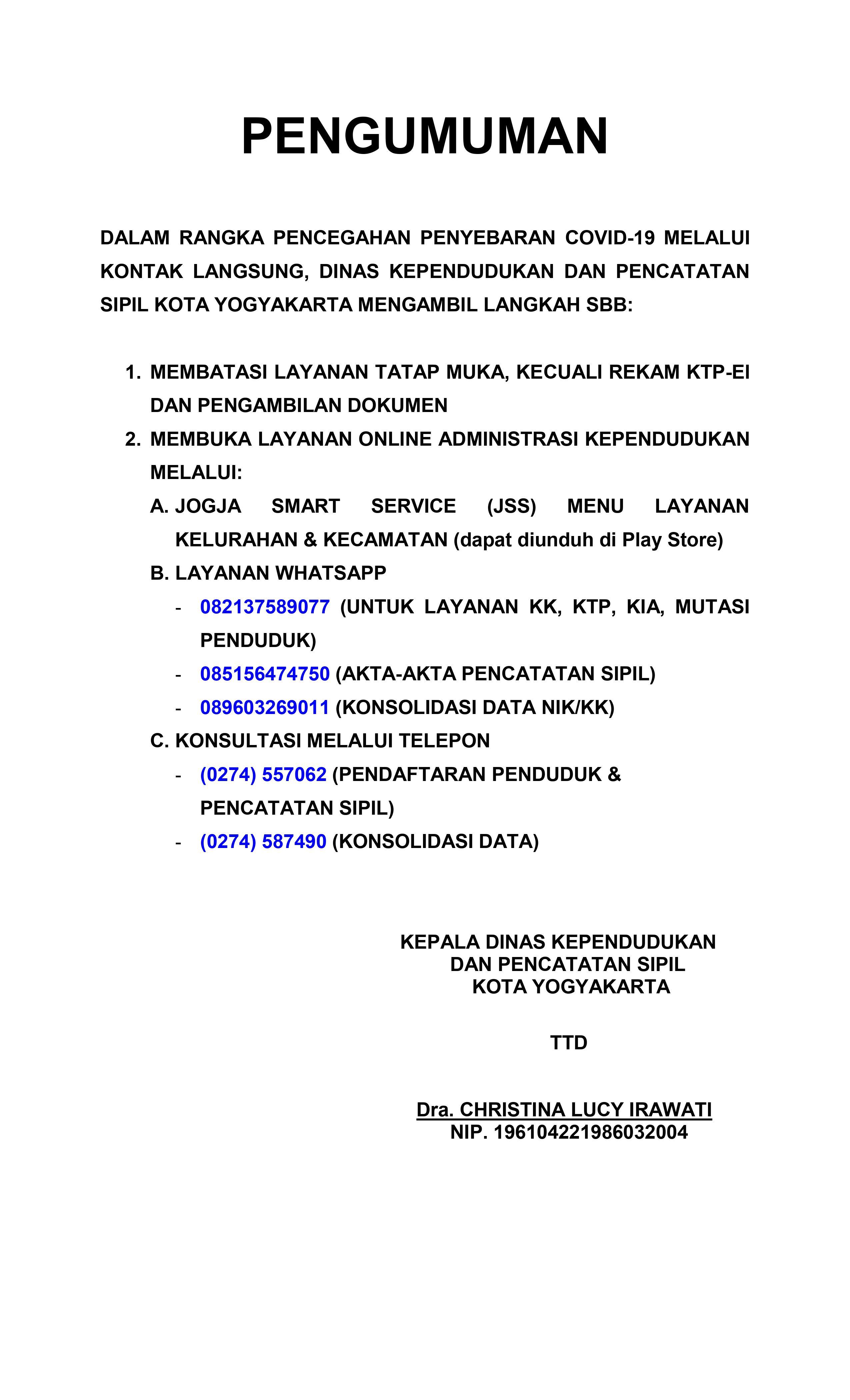 Pencetakan Dokumen Kependudukan Secara Mandiri