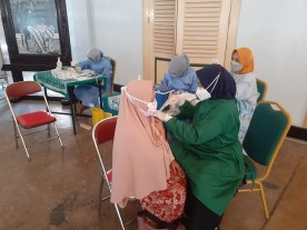 Wani Vaksin Kelurahan Purwokinanti Kemantren Pakualaman