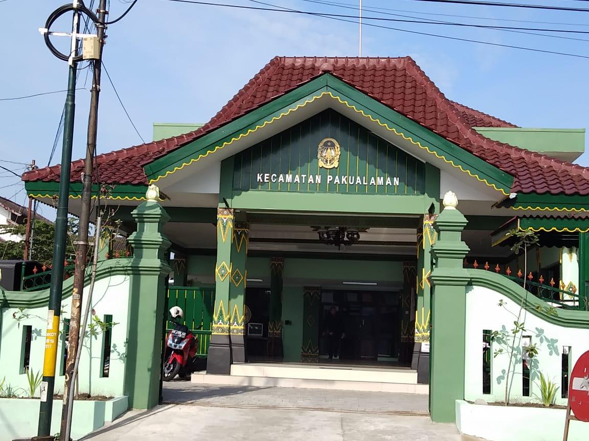 Kantor Kecamatan Pakualaman yang Baru di Jl.Suryopranoto Nomor 35