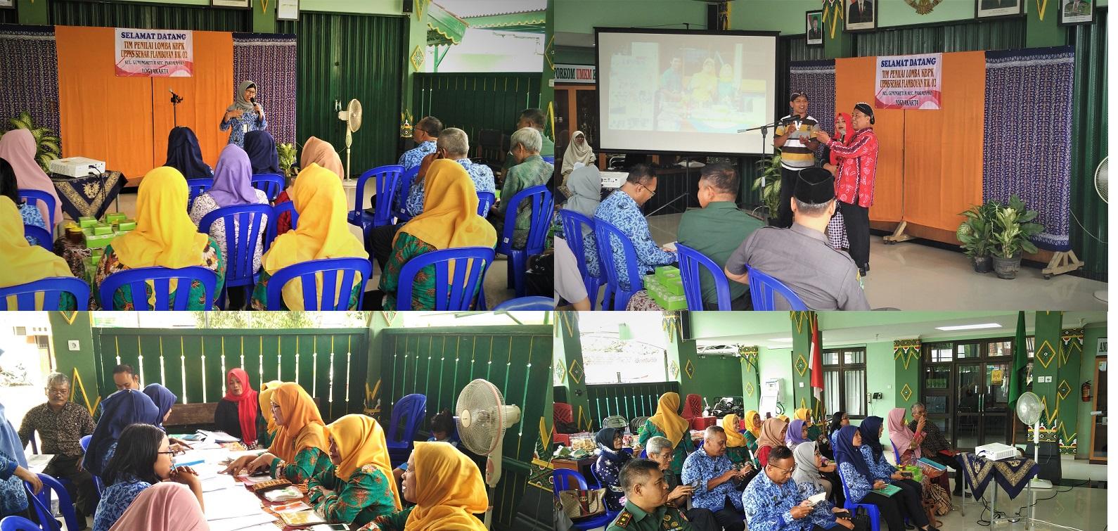 Lomba KBPK UPPKS Kecamatan Pakualaman yang diwakili oleh UPPKS SEKAR FLAMBOYAN