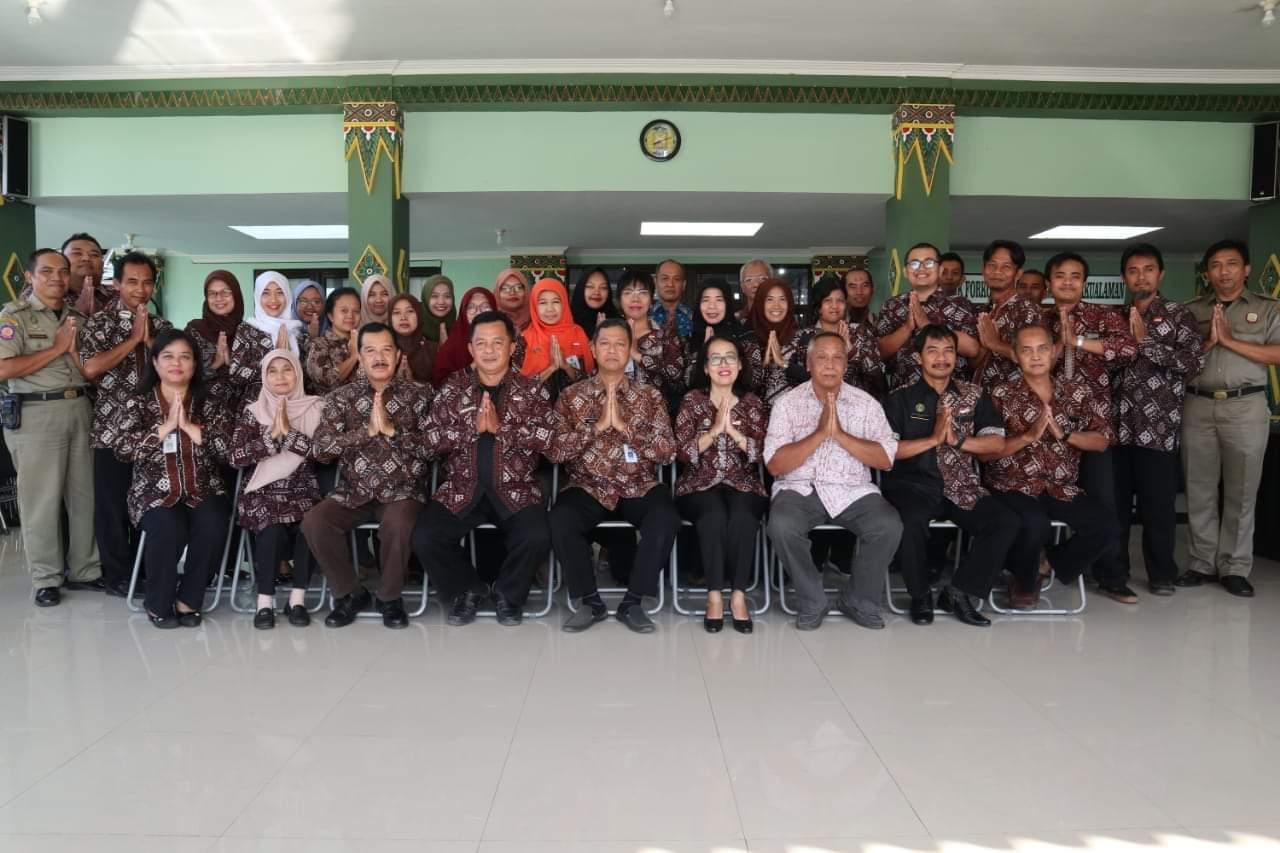 Formasi Terbaru Karyawan-Karyawati Kecamatan Pakualaman
